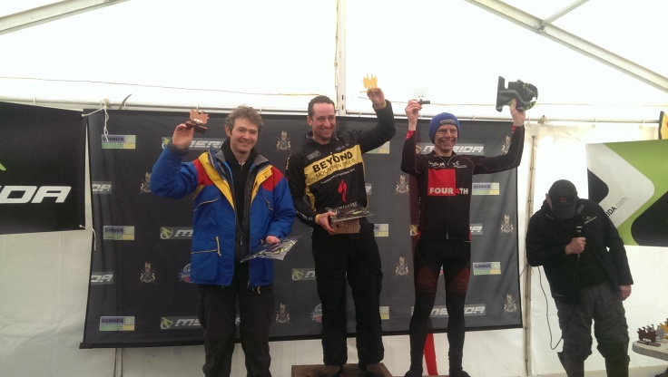 Ricard, Harry and Lou on the podium