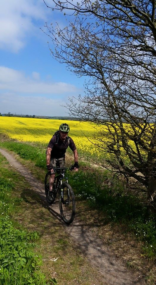 Chris enjoying a day out in the Chilterns