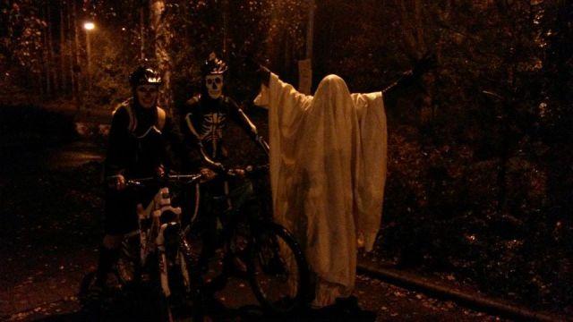 scary bikes